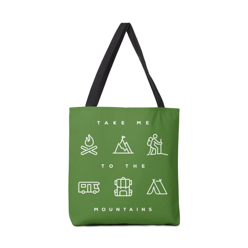 Take me to the mountains Accessories Bag by Fighting for Nature