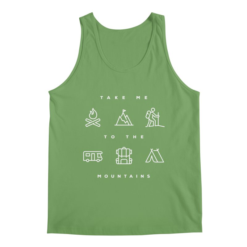 Take me to the mountains ALL GENDER Tank by Fighting for Nature