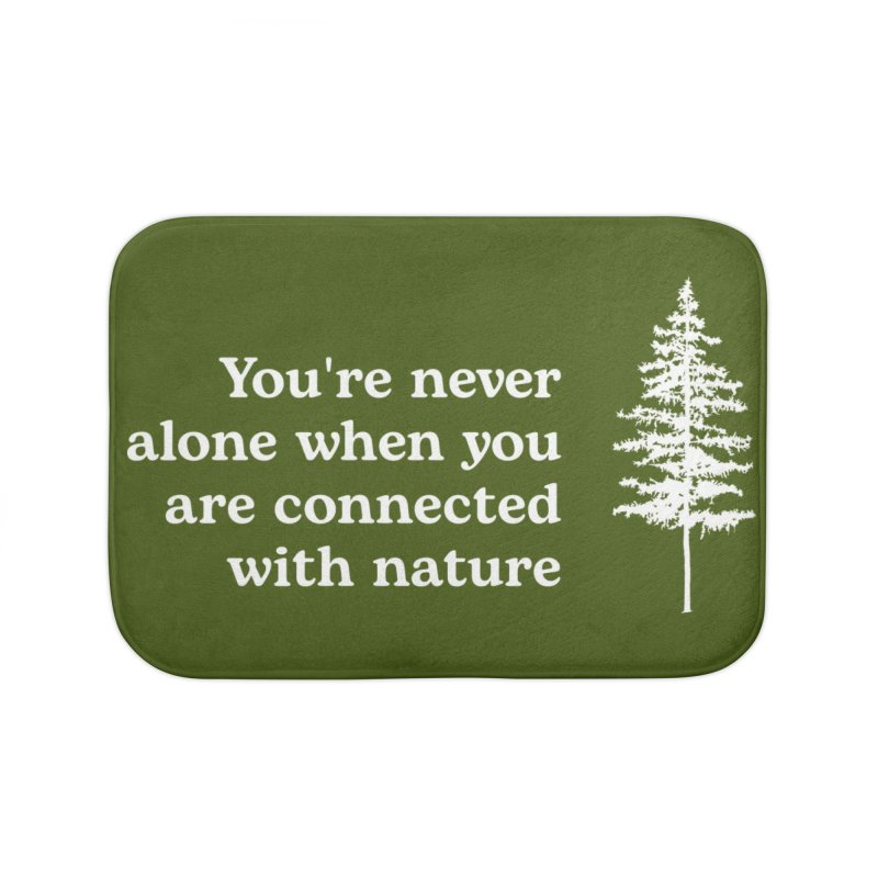 Connected with Nature WALL & DECOR Bath Mat by Fighting for Nature