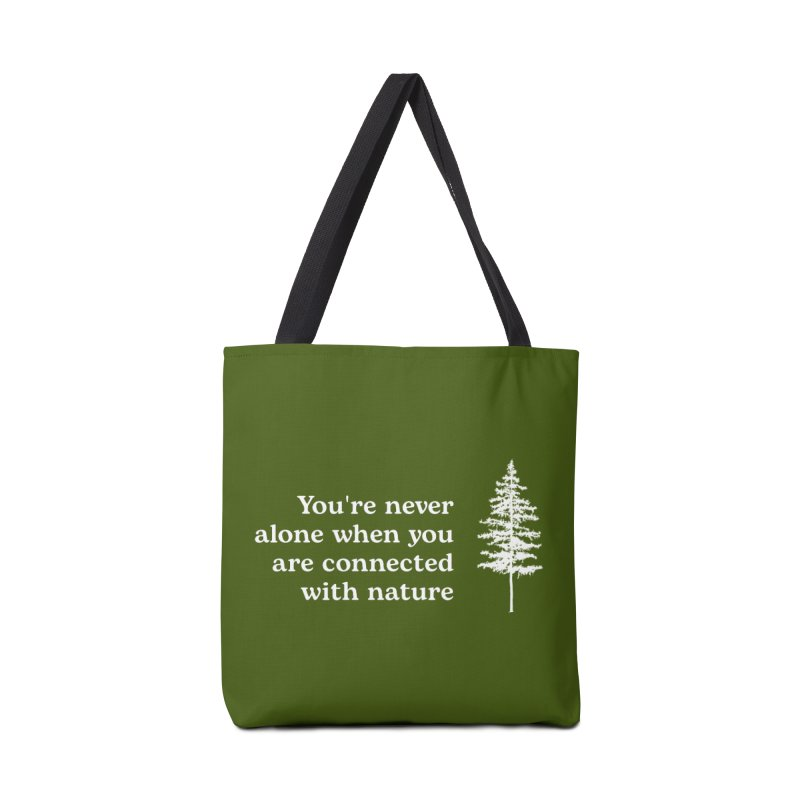 Connected with Nature Accessories Bag by Fighting for Nature