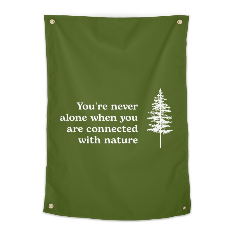 Connected with Nature WALL & DECOR Tapestry by Fighting for Nature