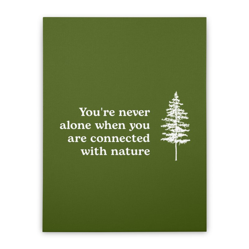 Connected with Nature WALL & DECOR Stretched Canvas by Fighting for Nature