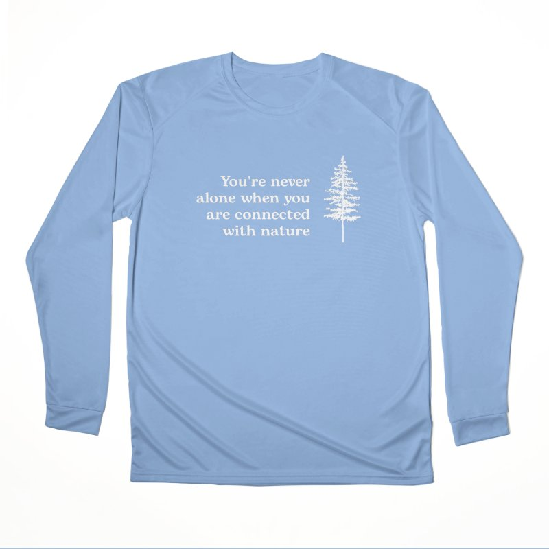 Connected with Nature ALL GENDER Longsleeve T-Shirt by Fighting for Nature