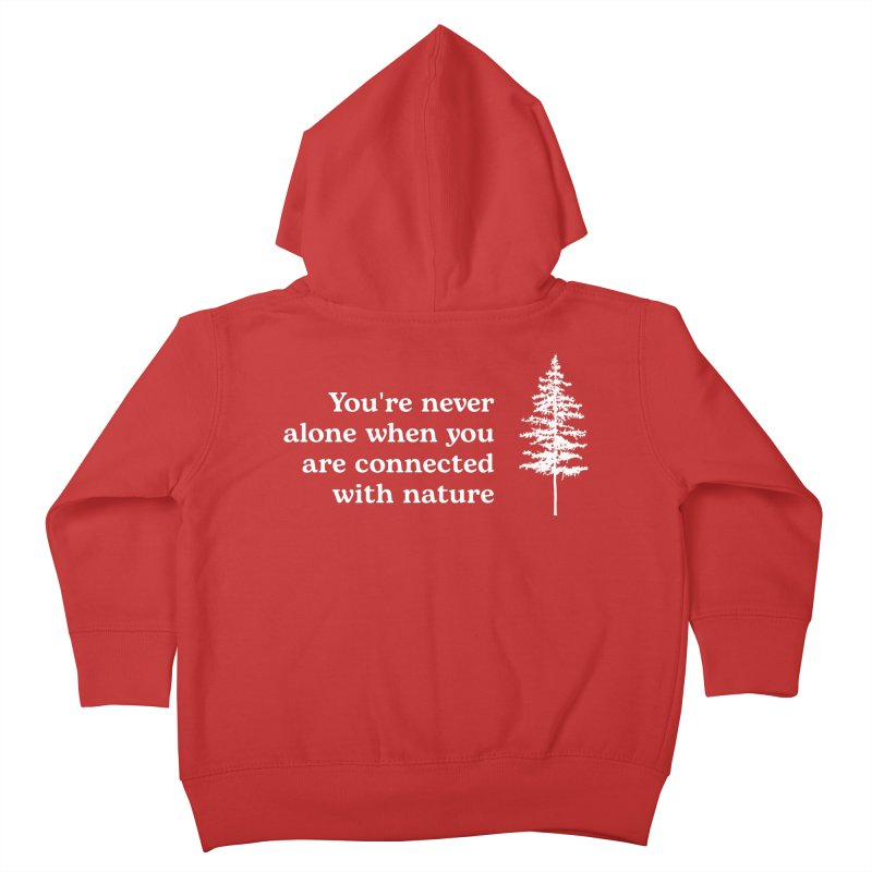 Connected with Nature Kids Toddler Zip-Up Hoody by Fighting for Nature