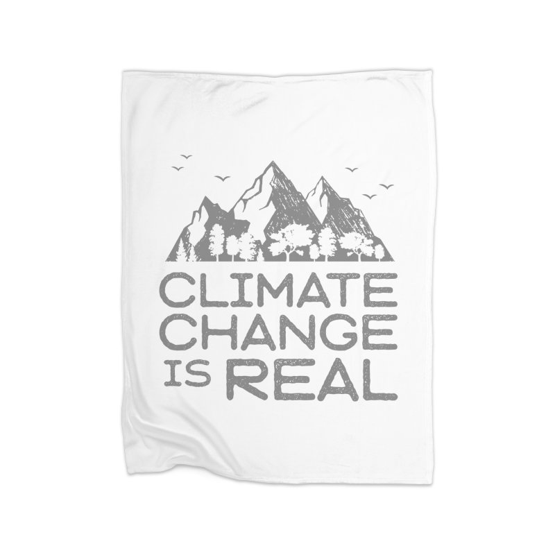 Climate Change is Real WALL & DECOR Blanket by Fighting for Nature