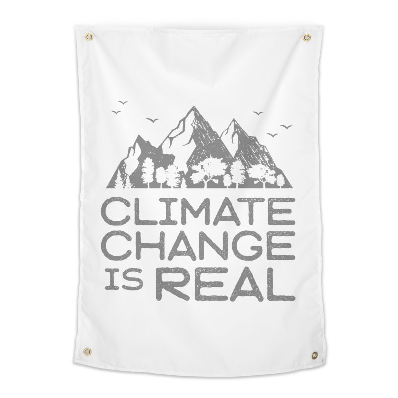 Climate Change is Real WALL & DECOR Tapestry by Fighting for Nature