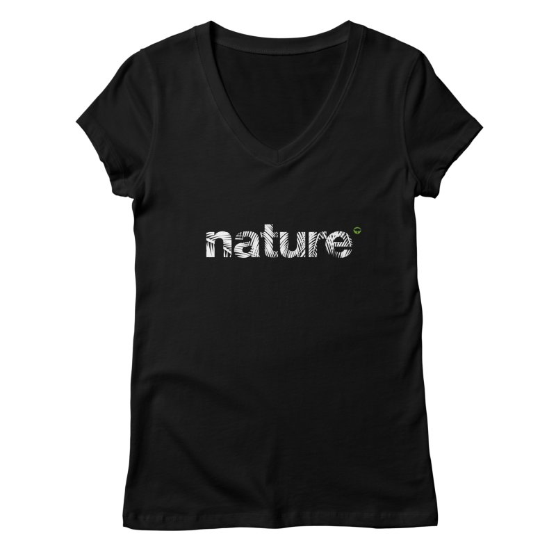 Nature Palm Trees FEMININE V-Neck by Fighting for Nature