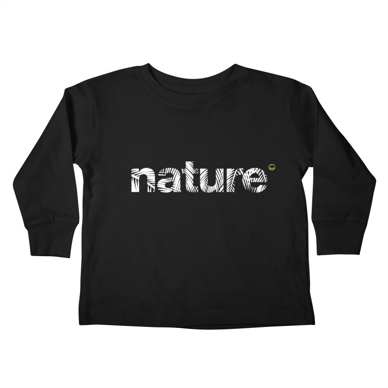 Nature Palm Trees Kids Toddler Longsleeve T-Shirt by Fighting for Nature