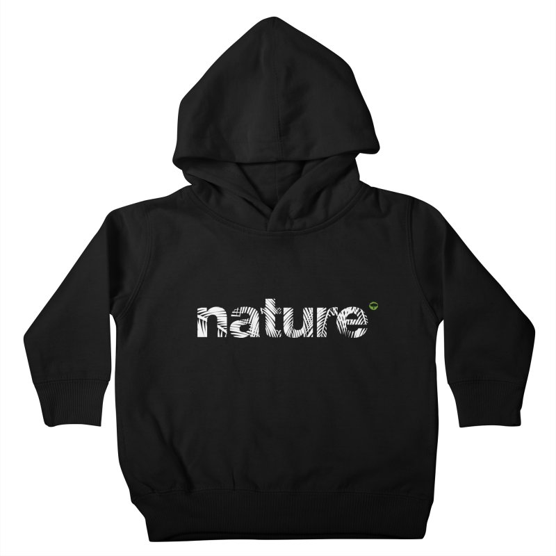 Nature Palm Trees Kids Toddler Pullover Hoody by Fighting for Nature