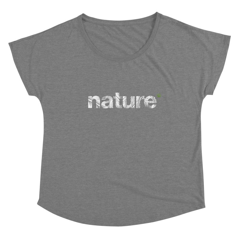 Nature Palm Trees FEMININE Scoop Neck by Fighting for Nature