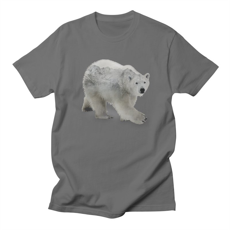 Polar Bear and Mountains ALL GENDER T-Shirt by Fighting for Nature