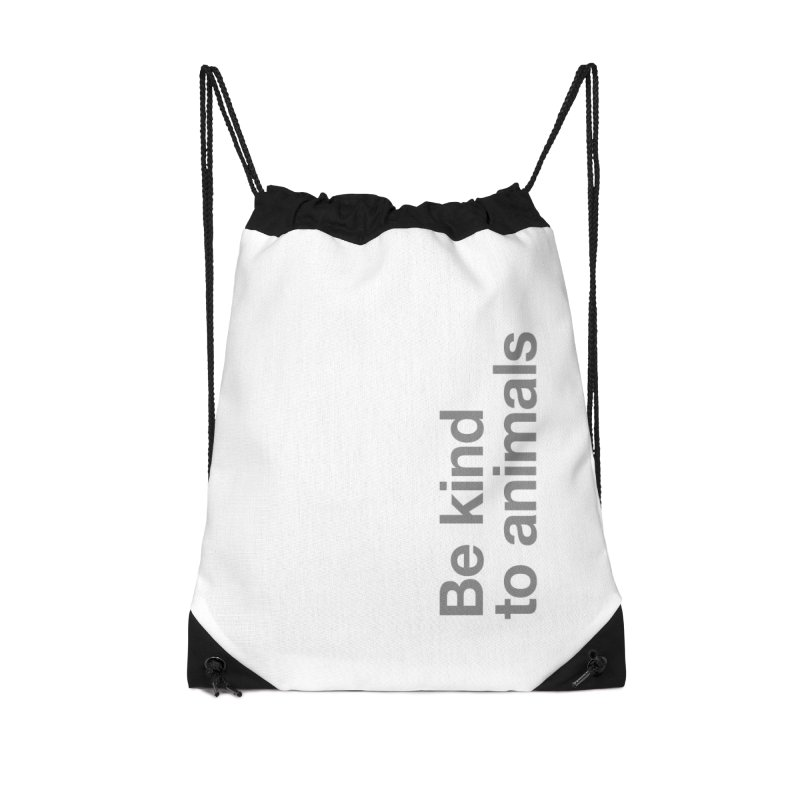 Be kind to animals Accessories Bag by Fighting for Nature