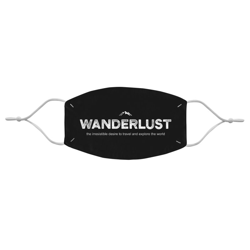 Wanderlust Accessories Face Mask by Fighting for Nature