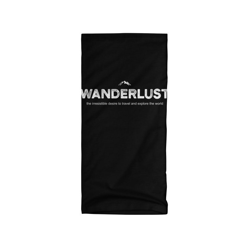 Wanderlust Accessories Neck Gaiter by Fighting for Nature
