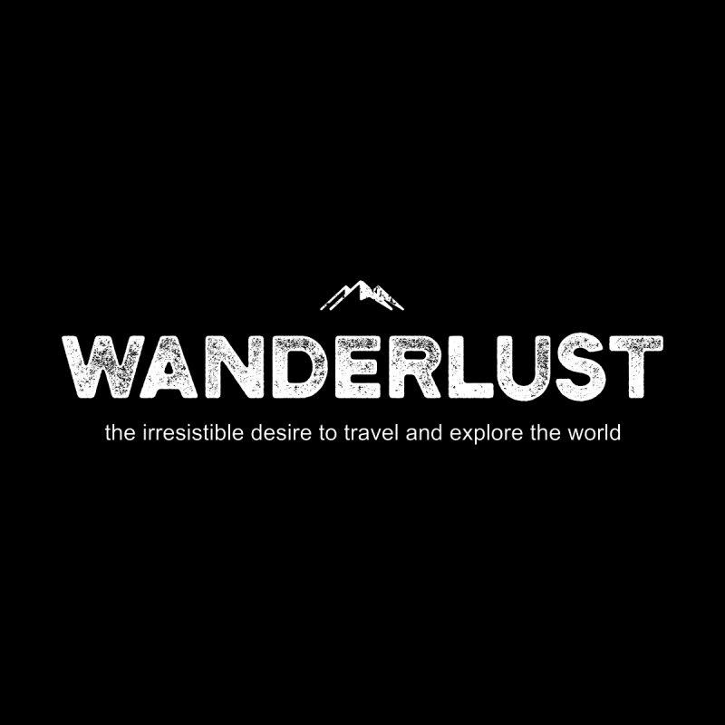 Wanderlust ALL GENDER V-Neck by Fighting for Nature