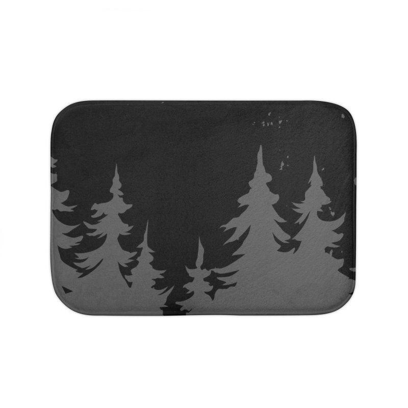 Pine Forest WALL & DECOR Bath Mat by Fighting for Nature