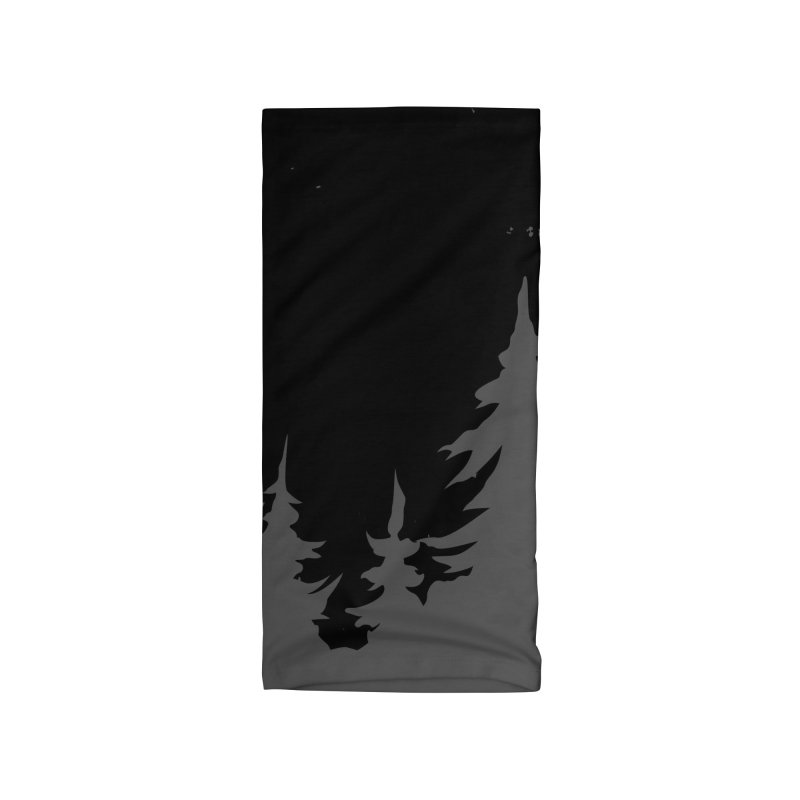 Pine Forest Accessories Neck Gaiter by Fighting for Nature
