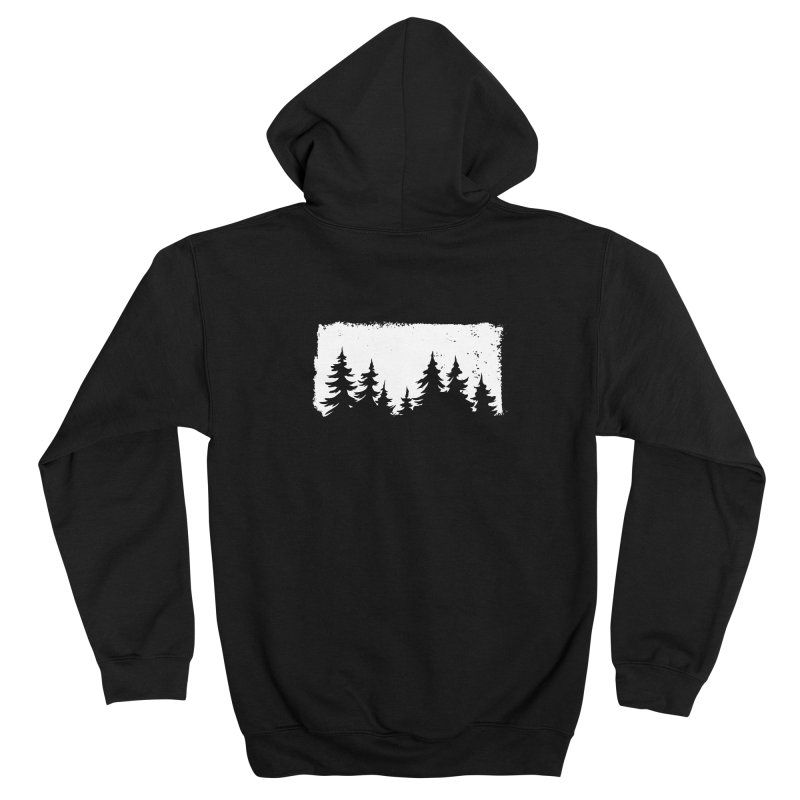 Pine Forest FEMININE Zip-Up Hoody by Fighting for Nature