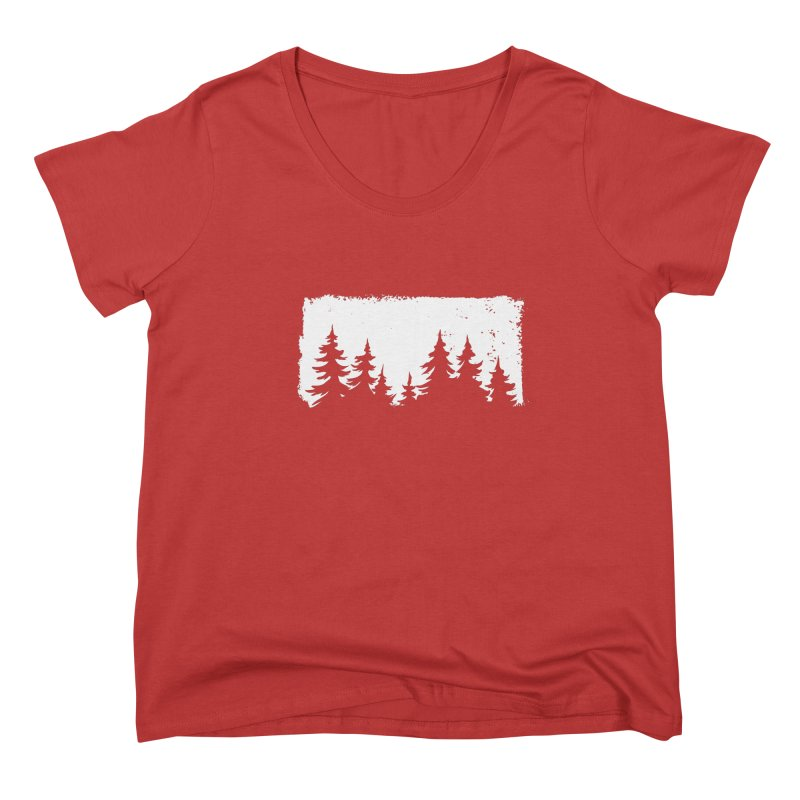 Pine Forest FEMININE Scoop Neck by Fighting for Nature