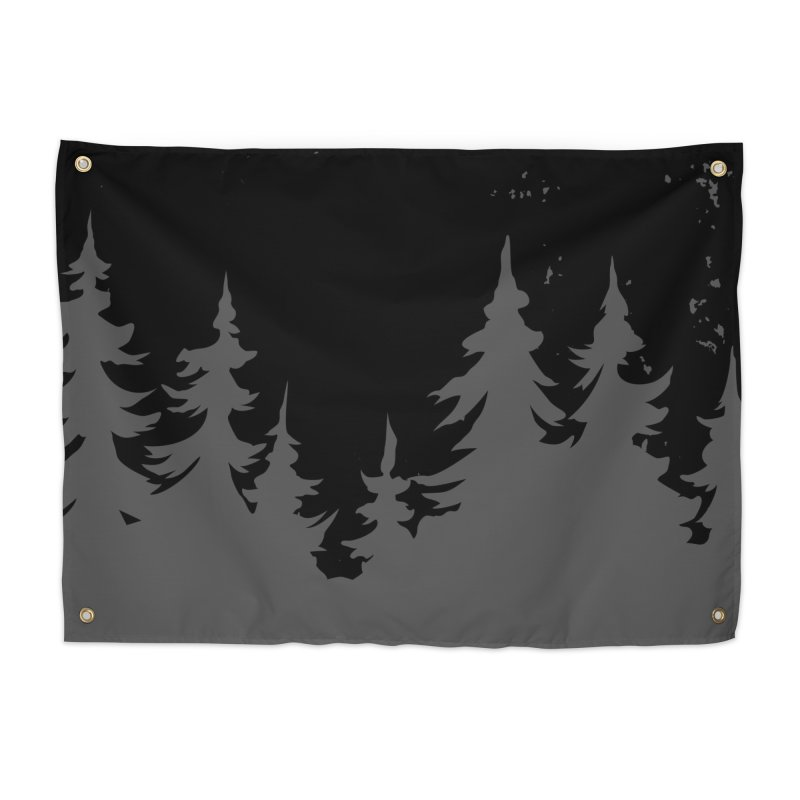 Pine Forest WALL & DECOR Tapestry by Fighting for Nature