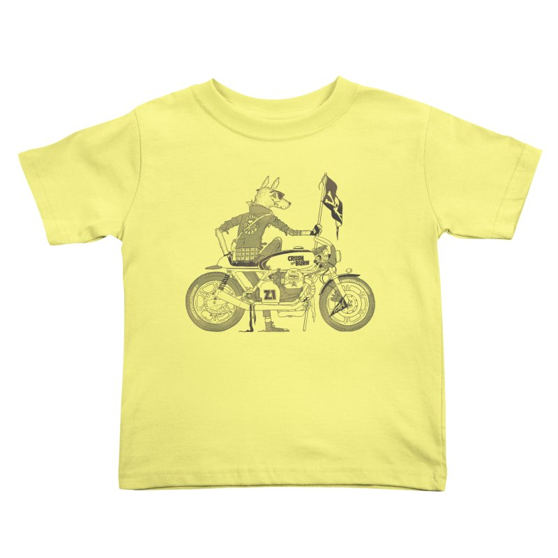 Pirates MC Kids Toddler T-Shirt by fightstacy