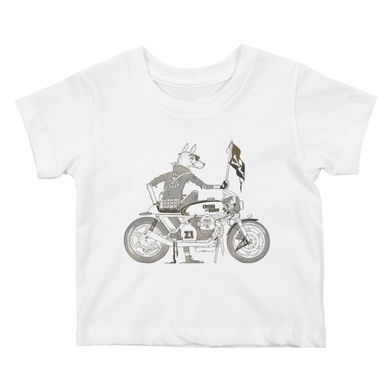 Pirates MC Kids Baby T-Shirt by fightstacy