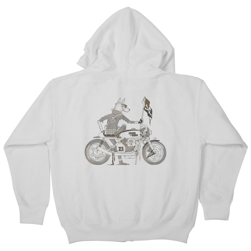 Pirates MC Kids Zip-Up Hoody by fightstacy
