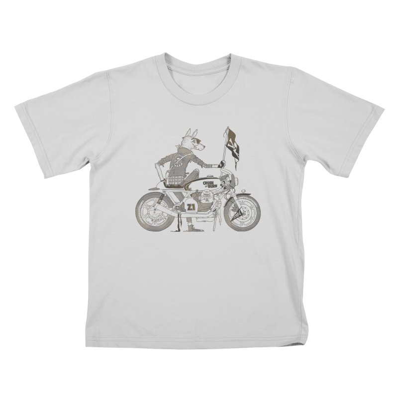 Pirates MC Kids T-Shirt by fightstacy