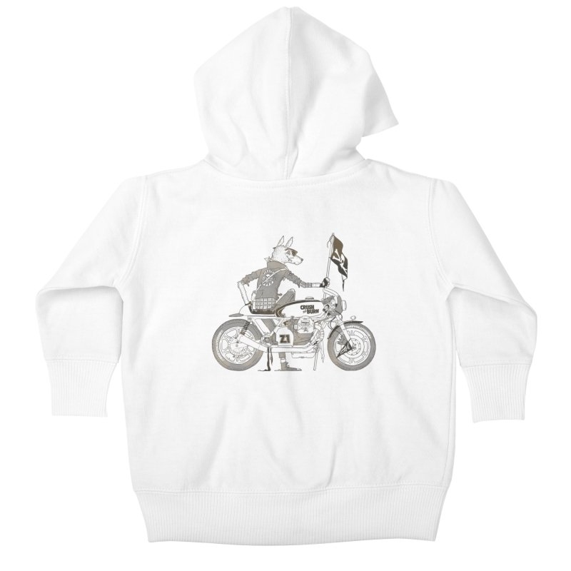 Pirates MC Kids Baby Zip-Up Hoody by fightstacy