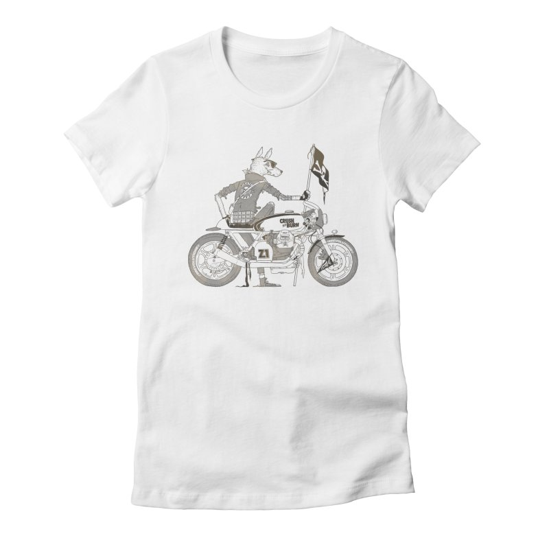 Pirates MC Women's Fitted T-Shirt by fightstacy