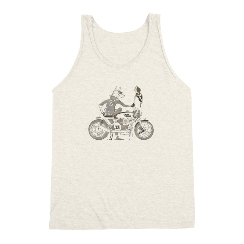 Pirates MC Men's Triblend Tank by fightstacy