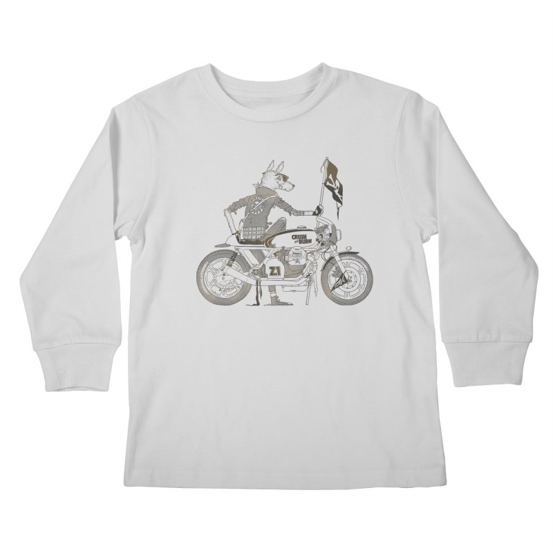 Pirates MC Kids Longsleeve T-Shirt by fightstacy