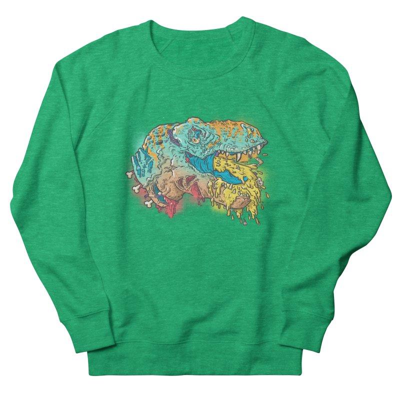 Jurassick Puke Women's French Terry Sweatshirt by fightstacy