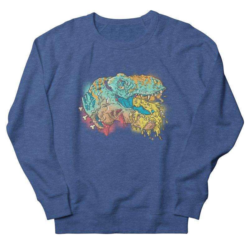 Jurassick Puke Women's Sweatshirt by fightstacy