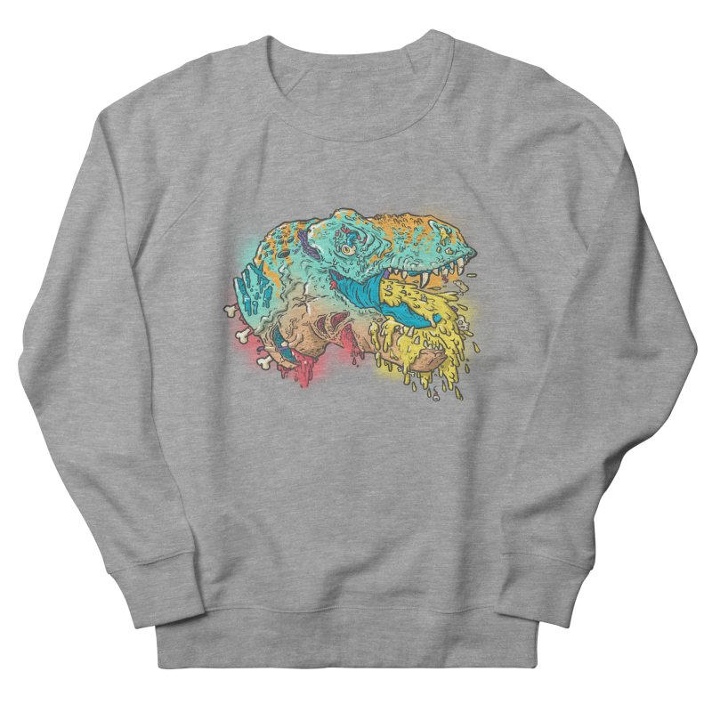 Jurassick Puke Women's Sweatshirt by fightstacy