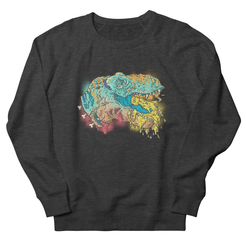 Jurassick Puke Men's Sweatshirt by fightstacy