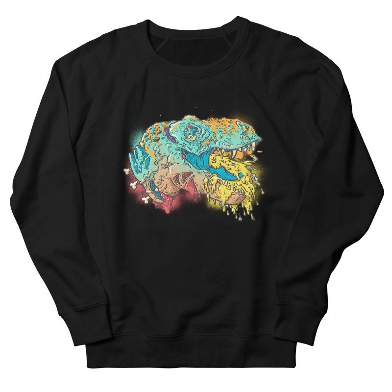 Jurassick Puke Men's Sweatshirt by fightstacy