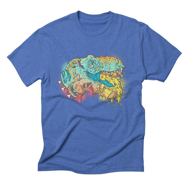 Jurassick Puke Men's Triblend T-shirt by fightstacy