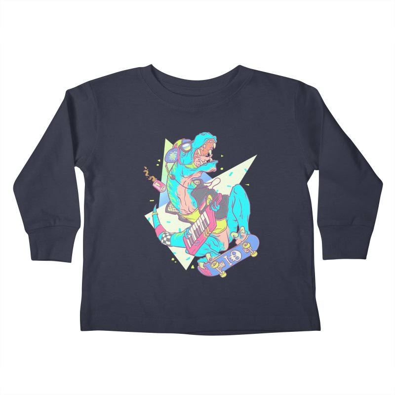 Get JuRADssic! Kids Toddler Longsleeve T-Shirt by fightstacy