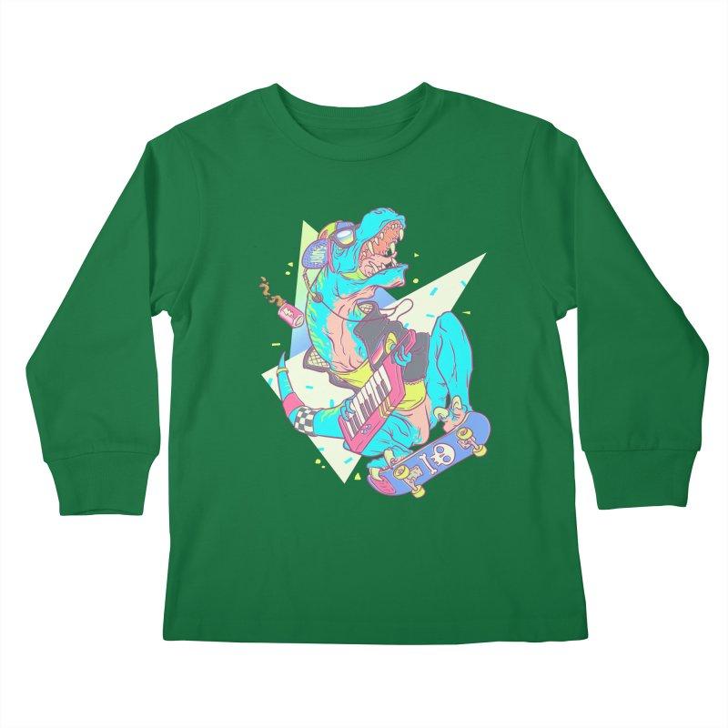 Get JuRADssic! Kids Longsleeve T-Shirt by fightstacy