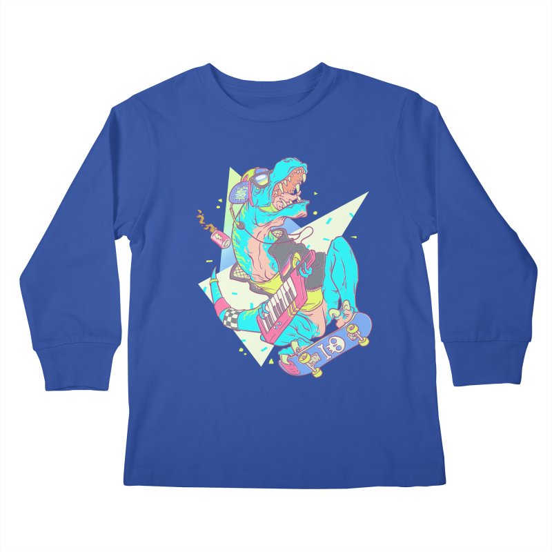 Get JuRADssic! Kids Longsleeve T-Shirt by fightstacy