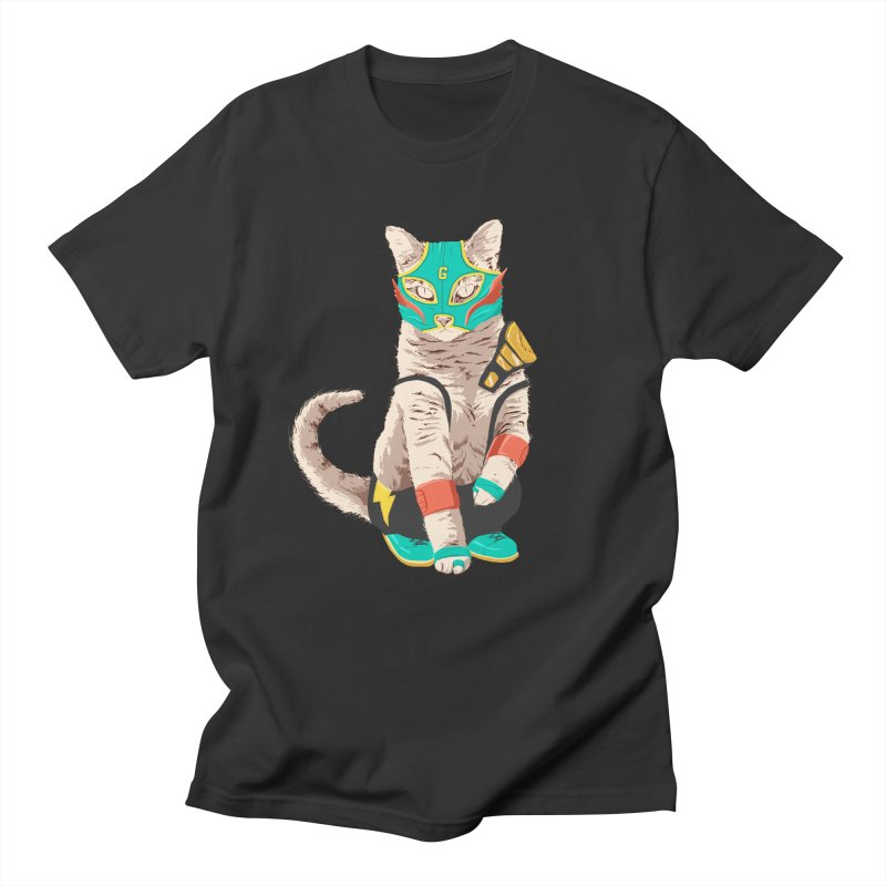 El Gato Asesino Men's T-shirt by fightstacy