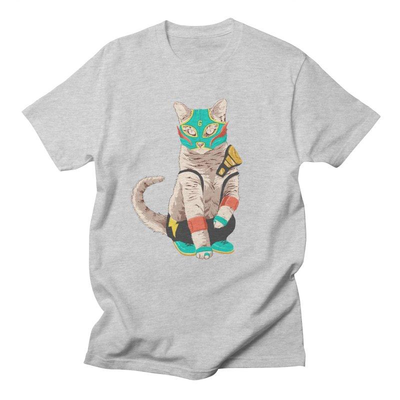 El Gato Asesino Men's T-shirt by fightstacy