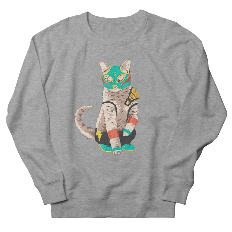 El Gato Asesino Men's Sweatshirt by fightstacy