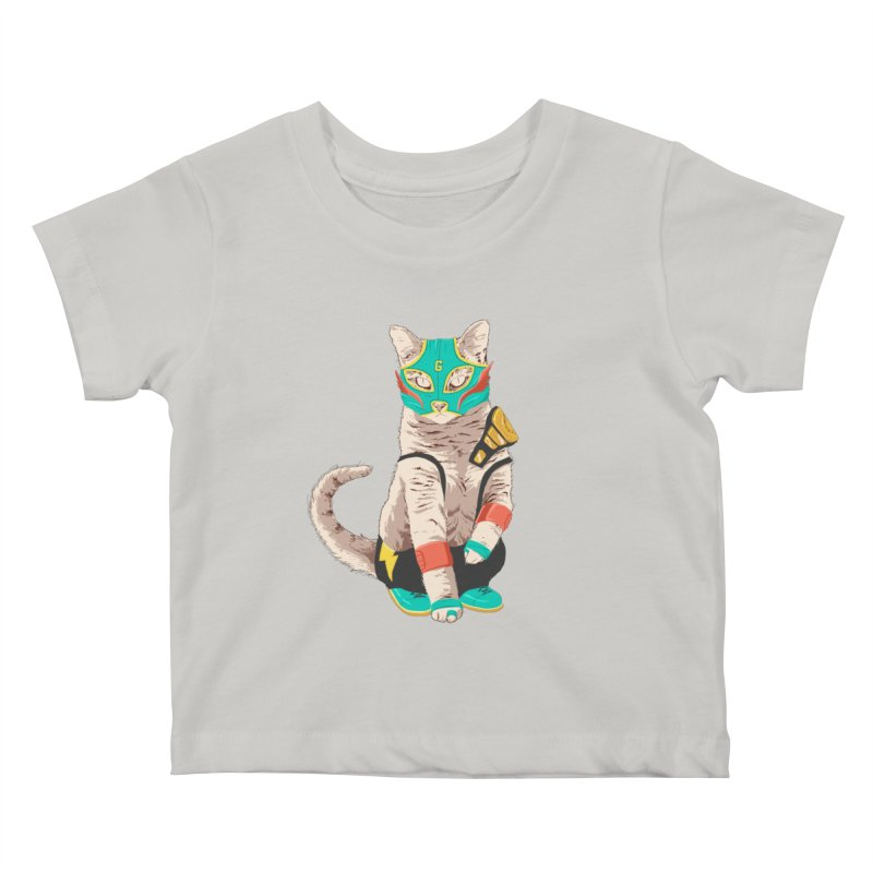 El Gato Asesino Kids Baby T-Shirt by fightstacy