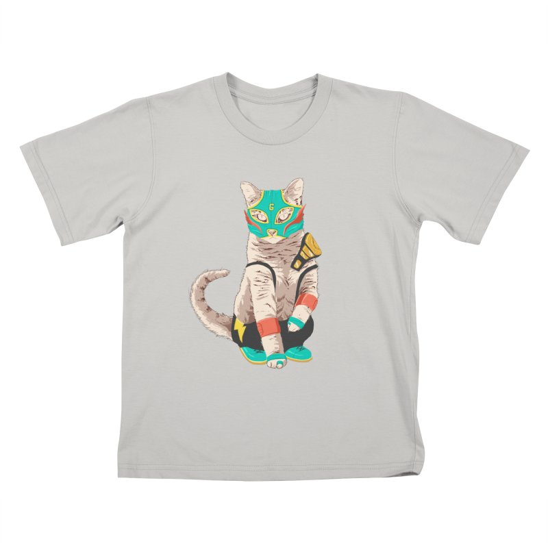 El Gato Asesino Kids T-shirt by fightstacy