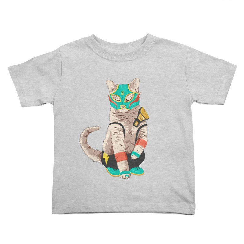 El Gato Asesino Kids Toddler T-Shirt by fightstacy