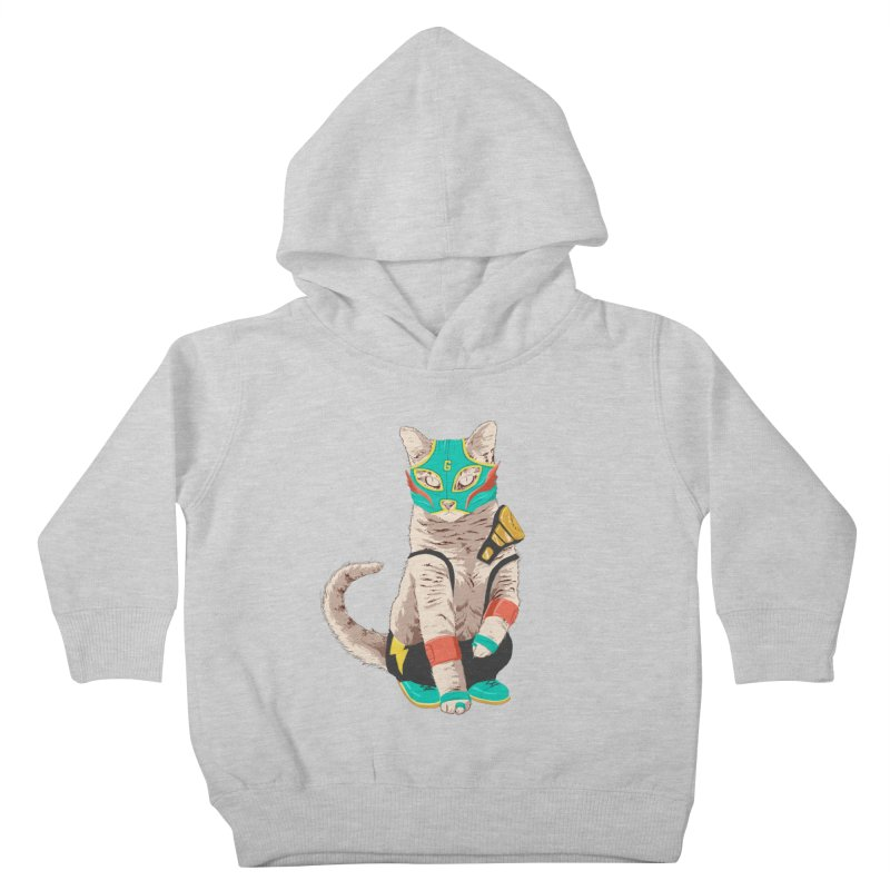 El Gato Asesino Kids Toddler Pullover Hoody by fightstacy