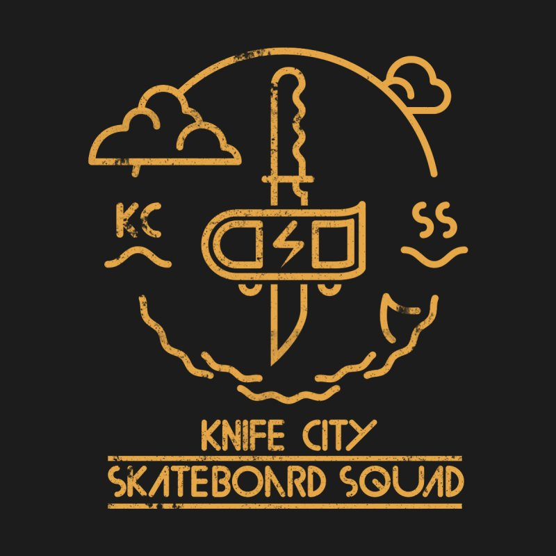 Knife City Skateboard Squad Men's Baseball Triblend T-Shirt by fightstacy