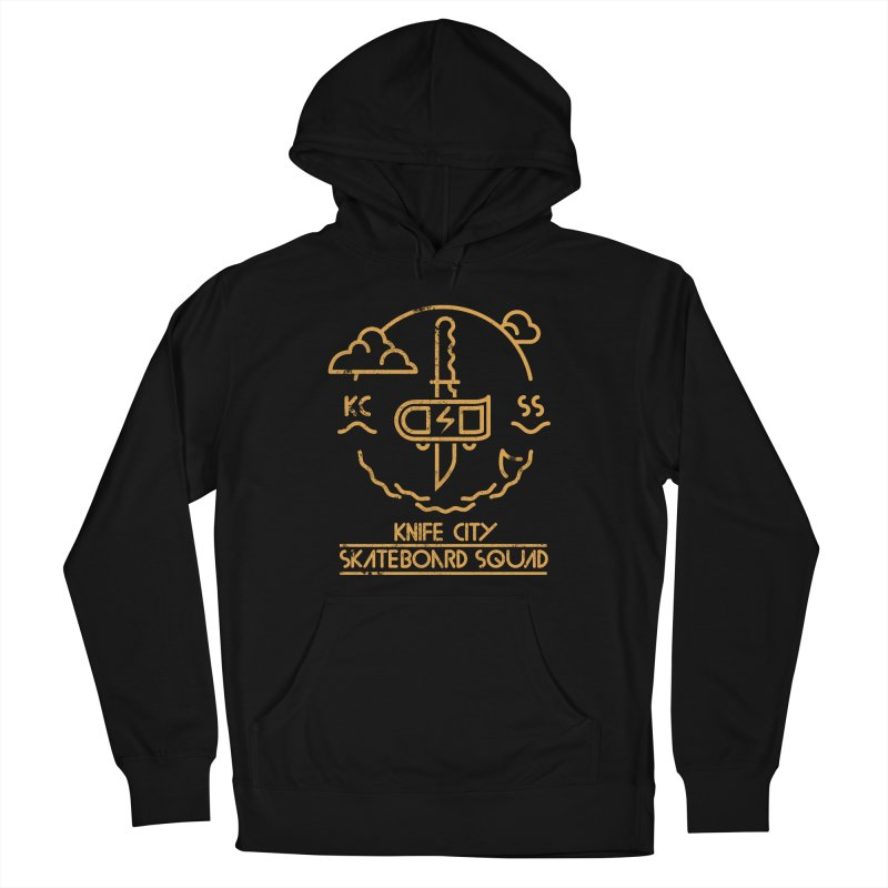 Knife City Skateboard Squad Men's Pullover Hoody by fightstacy